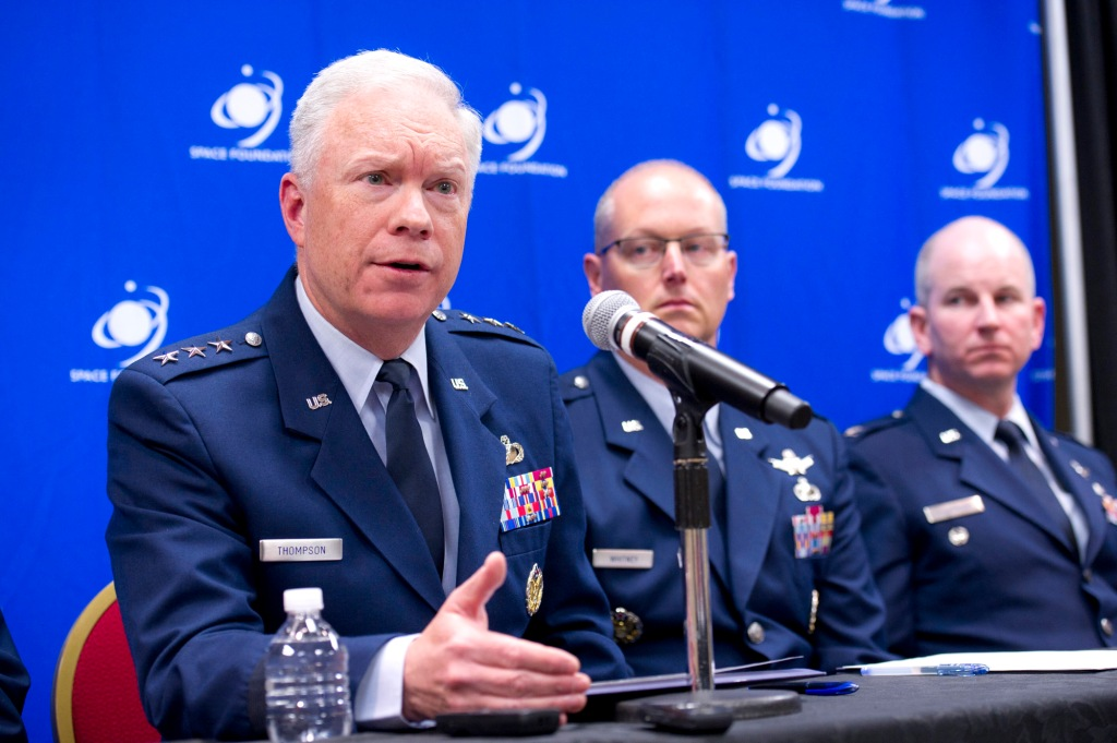 Air Force Lt. Gen. John Thompson
